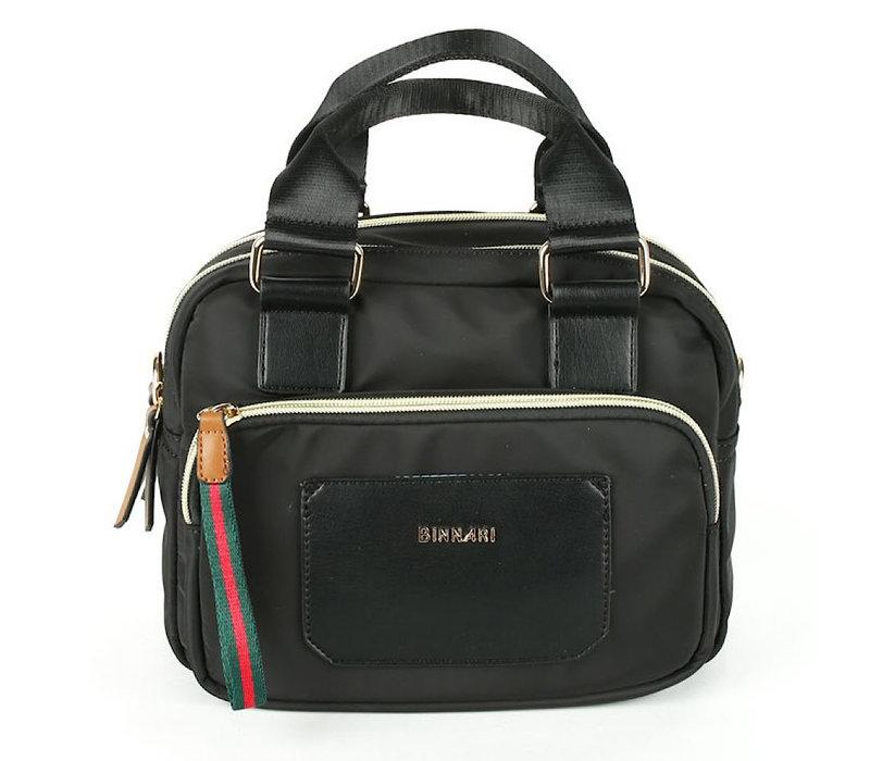 BINNARI 19001 Black Glossy Vinyl Bag
