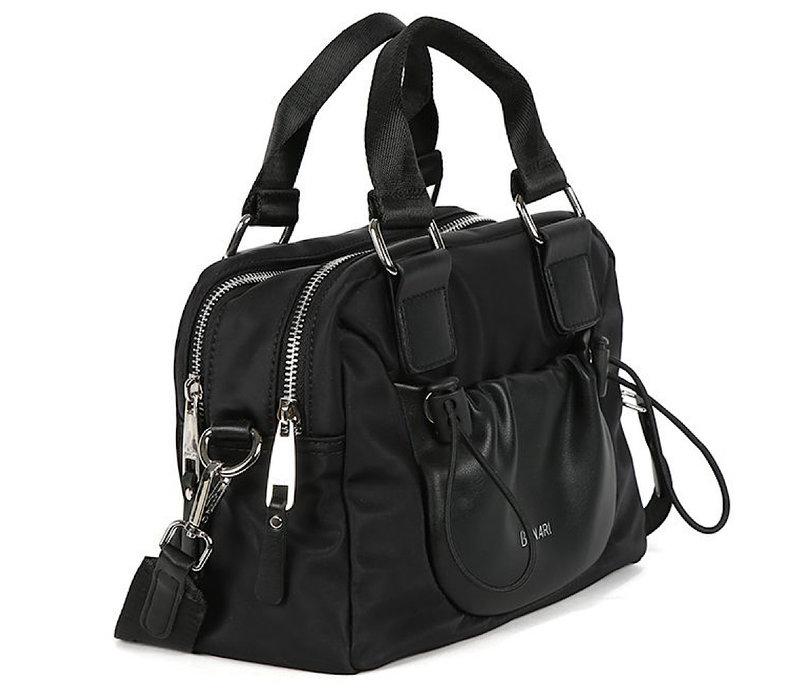 BINNARI 18982 Black Glossy Vinyl Bag