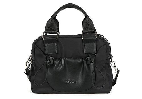 BINNARI BAGS BINNARI 18982 Black Glossy Vinyl Bag