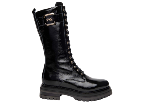 NeroGiardini NeroGiardini I117713D 3/4 Patent Boot
