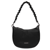 NeroGiardini I141033D Black Leather Bag