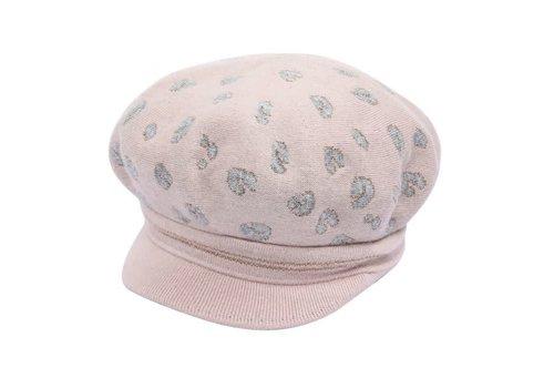 Peach Accessories SDN89 Blush Cashmere blend Baker Boy Hat