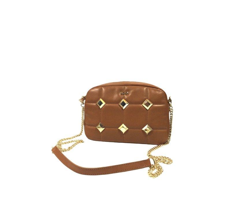 LODI L1207 VACUNO Tan Bag