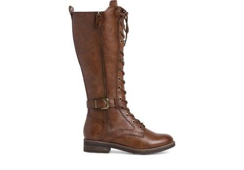 Tamaris A/W Tamaris 25510 Cognac Lace up Boot