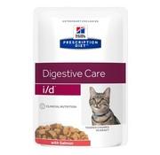 Hill's prescription diet Hill's feline i/d maaltijdzakje salmon