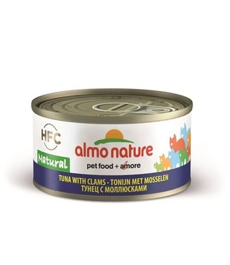 Almo Almo nature cat tonijn/schelpdier