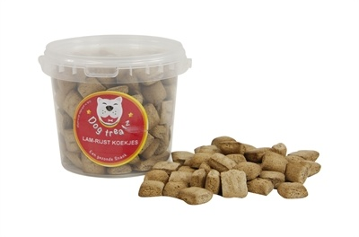 Dog treatz Dog treatz lam/rijst koekjes