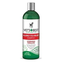 Vets best allergy itch relief shampoo