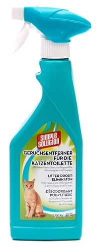 Simple solution Simple solution deodorizer voor kattentoilet