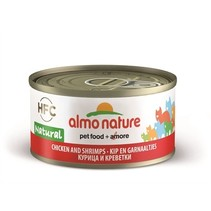 24x almo nature cat kip/garnaal