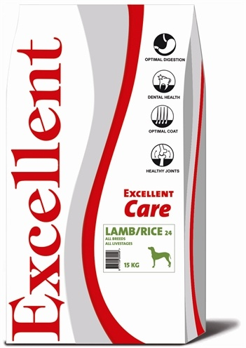 Excellent Excellent care lamb/rice 24
