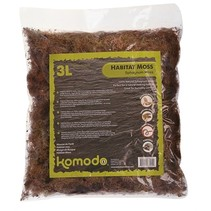 Komodo habitat mos