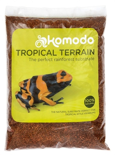 Komodo Komodo tropical terrain