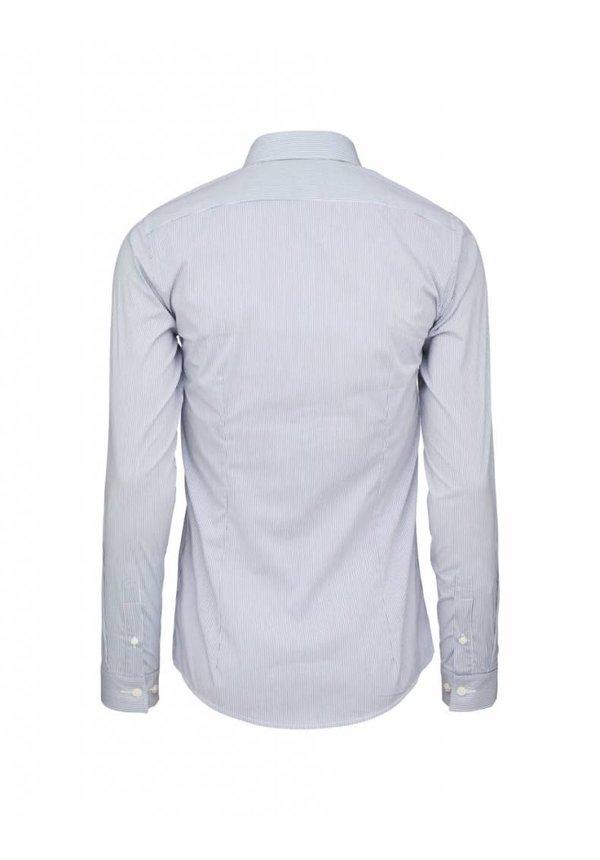 Brodie Shirt Royal Blue Stripe