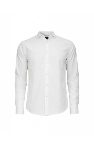 Tiger of Sweden Tiger Of Sweden Farrell 5 Cotton Shirt Pure White