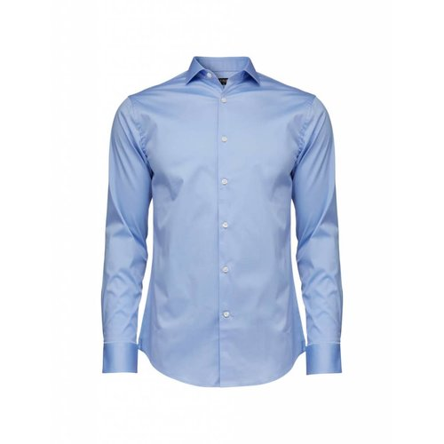 Tiger of Sweden Tiger Of Sweden Farrell 5 Cotton Shirt Blue 208