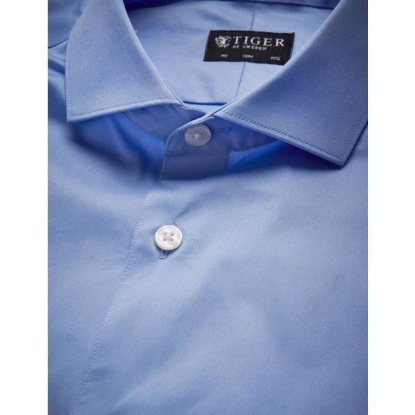 Farrell Cotton Shirt Blue