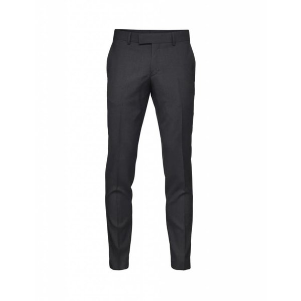 Gordon Wool Pants Dark Grey