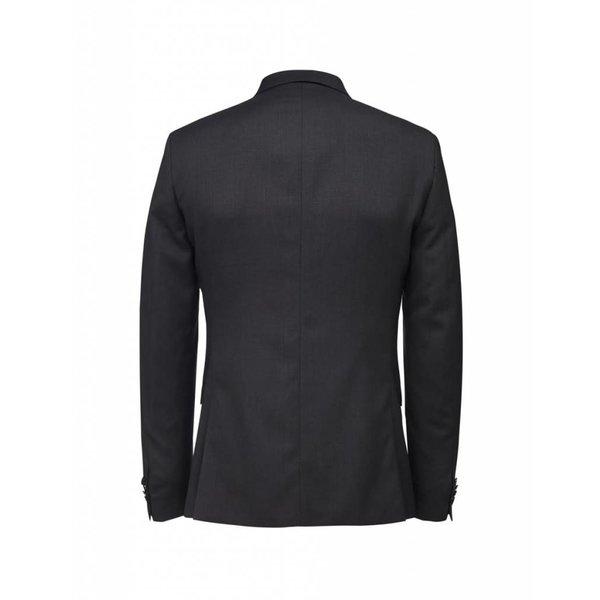 Jil Blazer Wool Dark Grey