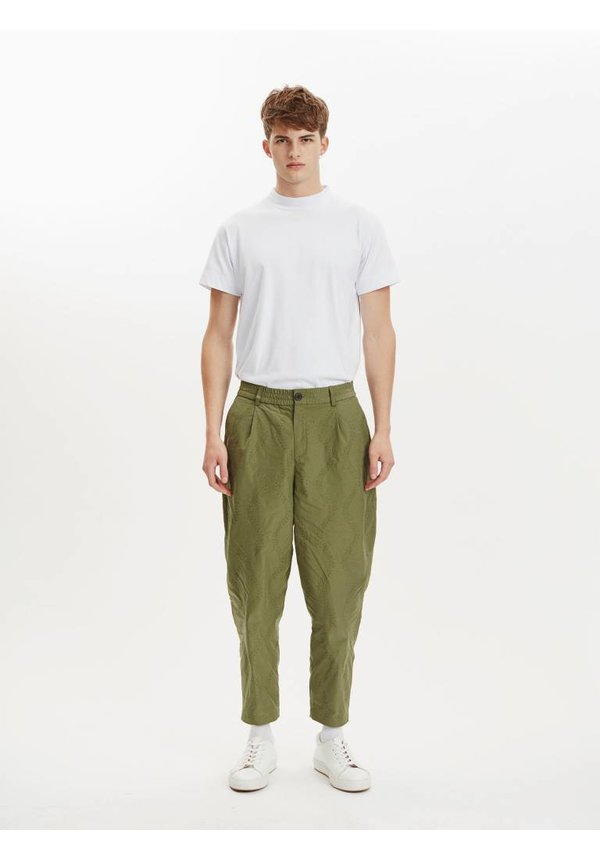 Libertine Libertine Helterskelter Trousers Olive Green