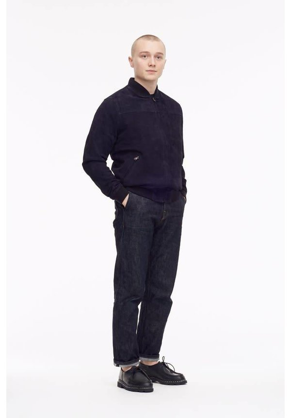 Livid Christopher Navy Suede