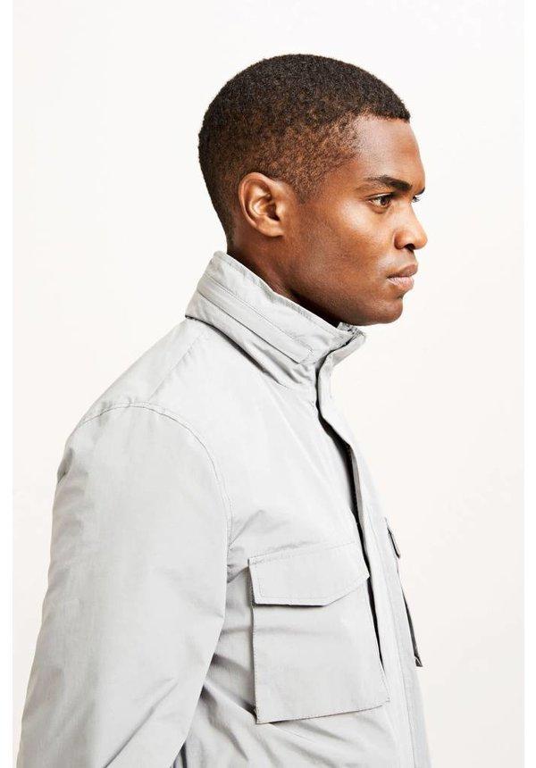 Samsoe Samsoe Balti Jacket Natural Gray