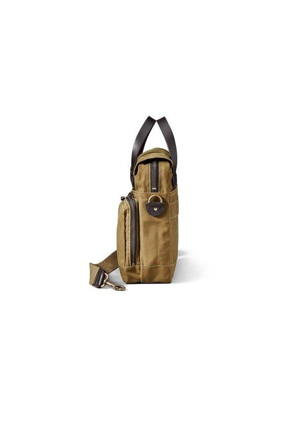 Filson 24-Hour Tin Briefcase Dark Tan