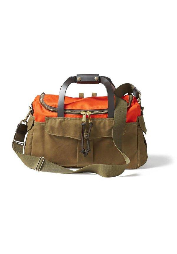 Filson Heritage Sportsman Bag Orange Dark Tan
