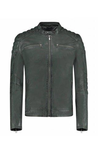 Goosecraft Goosecraft Leather Jacket Deep Forrest