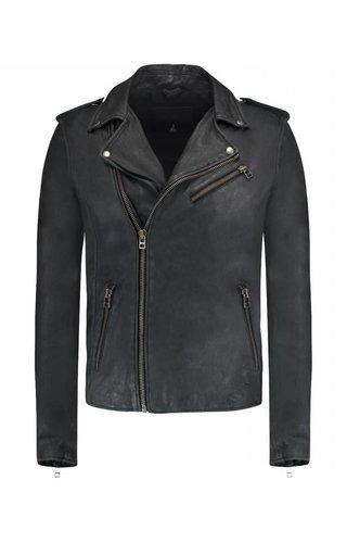 Goosecraft Goosecraft Leather Jacket Milan Black