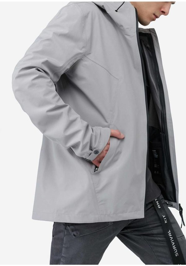 Techno Slim Jacket Light Grey Q159/3