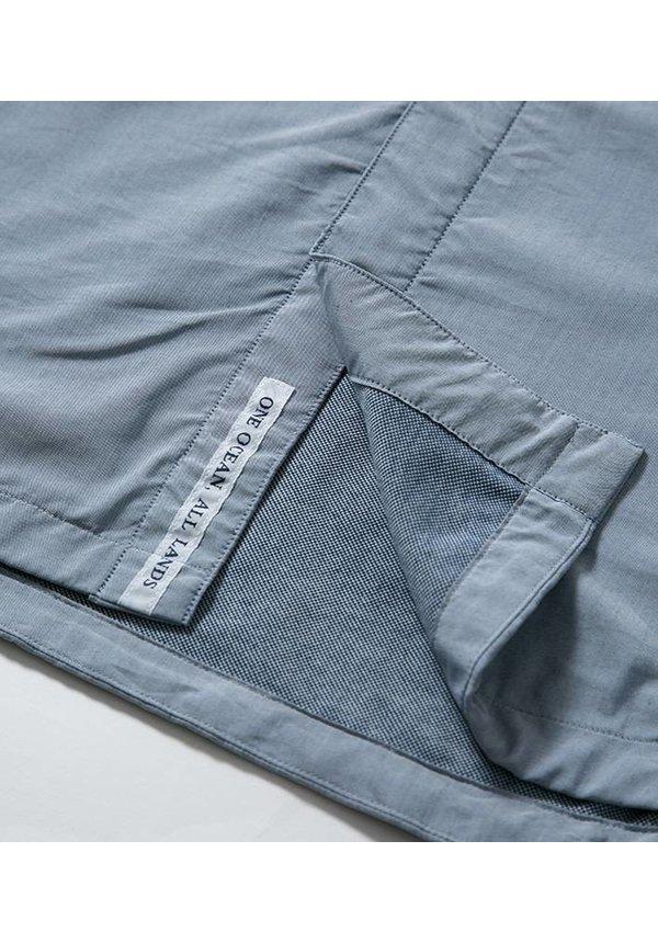 Nanamica Hood Shirt Jacket Navy
