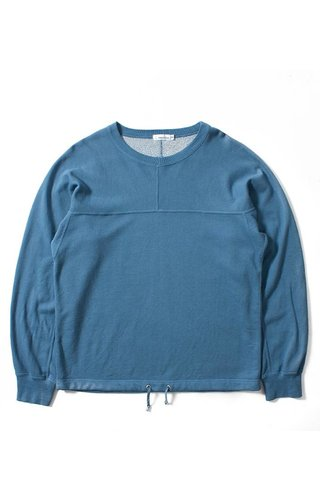 Nanamica Nanamica Crew Neck Sweat Fade Blue