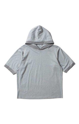 Nanamica Nanamica H/S Hood Pullover Heather Grey