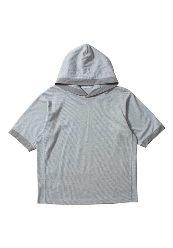 Nanamica H/S Hood Pullover Heather Grey