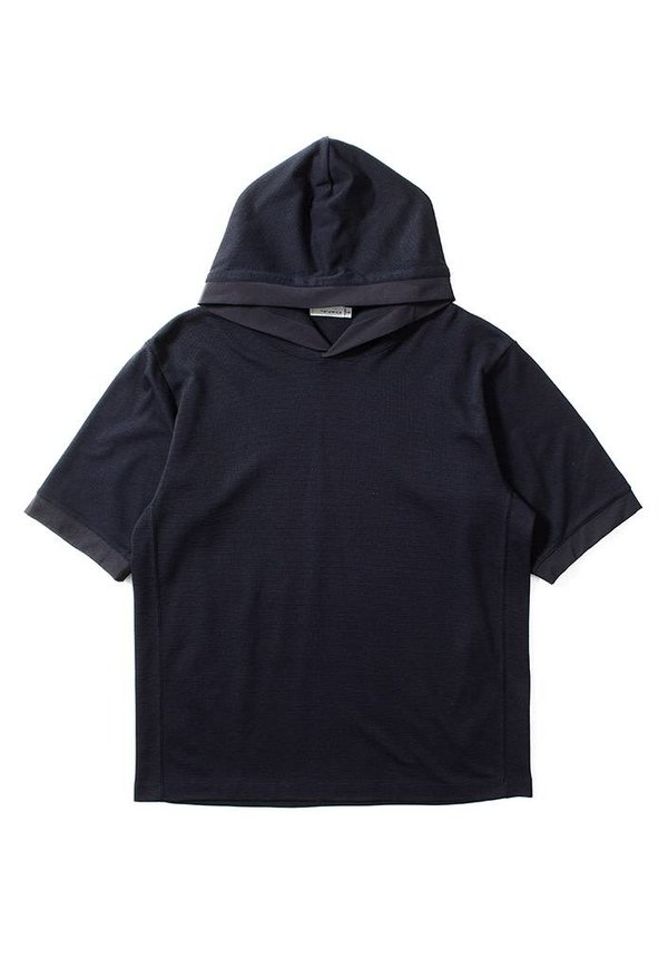 H/S Hood Pullover Navy