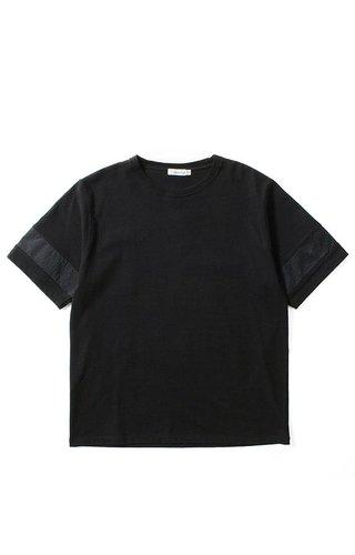 Nanamica Nanamica H/S Crew Neck Shirt Black