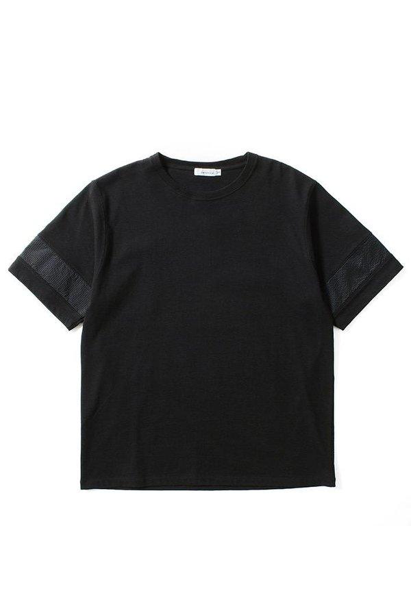 Nanamica H/S Crew Neck Shirt Black