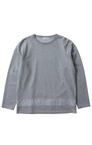 Nanamica Nanamica Crew Neck Shirt Heather Grey