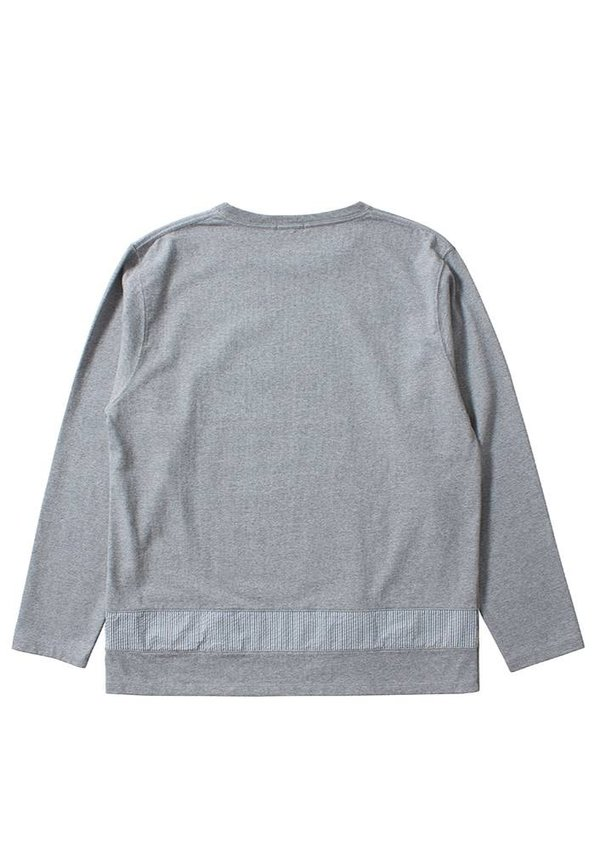 Nanamica Crew Neck Shirt Heather Grey