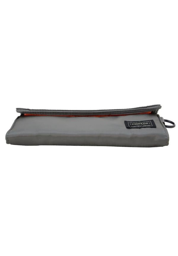 Tanker Wallet Long Silver Grey