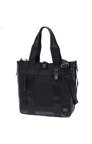 Yoshida Porter Yoshida Porter Heat 2-Way Tote Bag Black