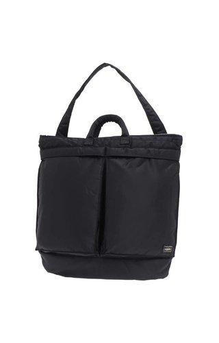 Yoshida Porter Yoshida Porter Tanker 2-Way Helmet Bag Black