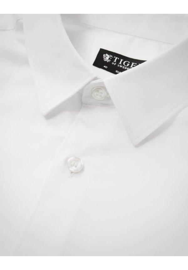 Tiger Of Sweden Joar Cotton Shirt 090 Pure White