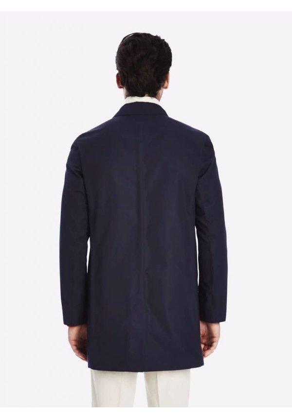 Private White V.C. Ventile SB Unlined Mac Midnight Navy