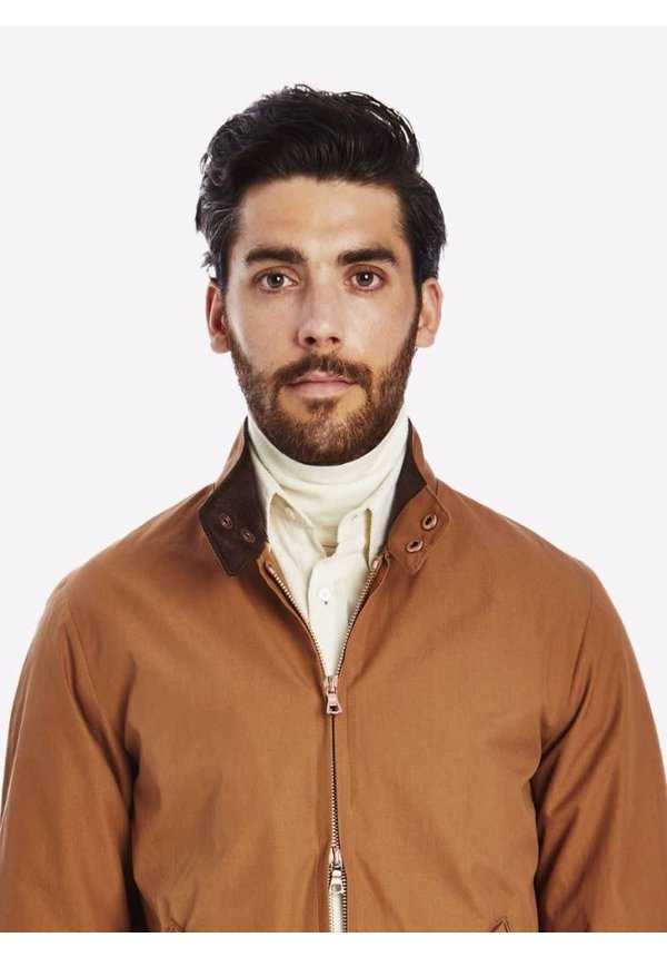 Private White V.C. Ventile Harrington Jacket Cinnamon