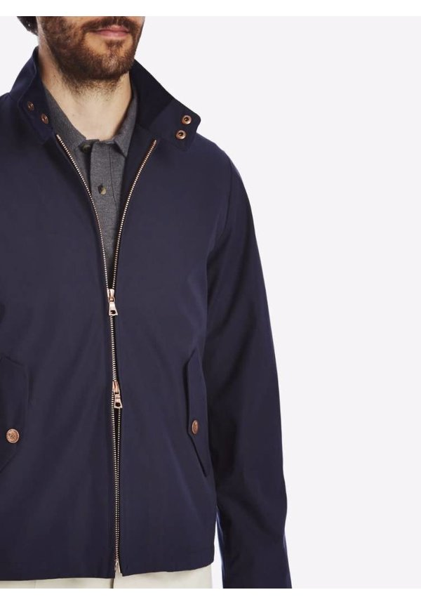 Private White V.C. Ventile Harrington Jacket Midnight