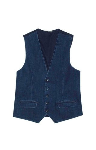 Gazzarrini Gazzarrini GLI14G Denim Gilet