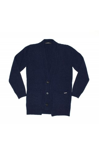 Gazzarrini Gazzarrini MI100G Cardigan Dark Navy