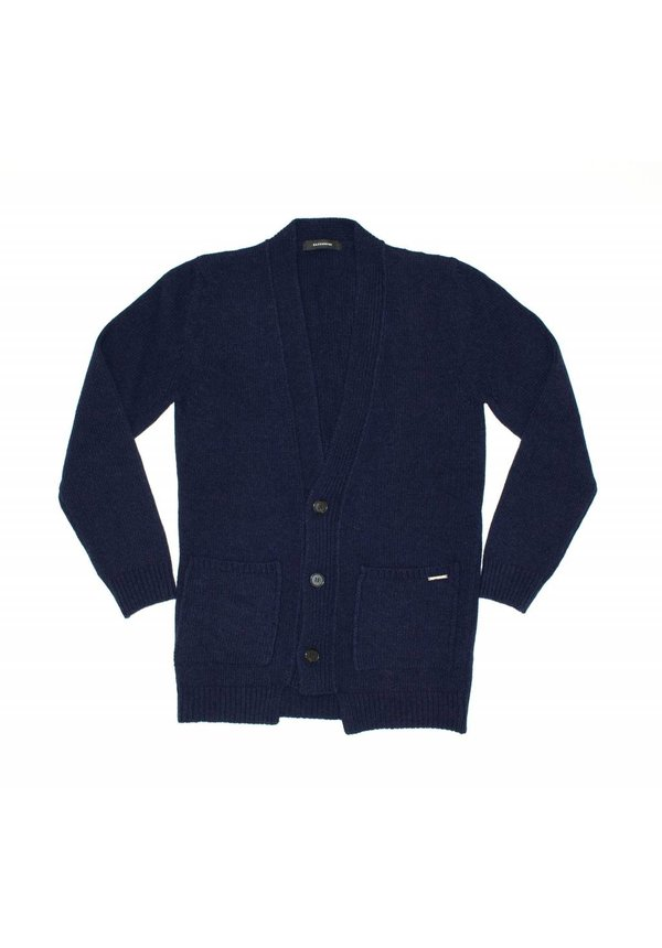 Gazzarrini MI100G Cardigan Dark Navy